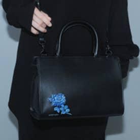 フィセルローズ 2WAYバッグ (ブラック×ブルー)