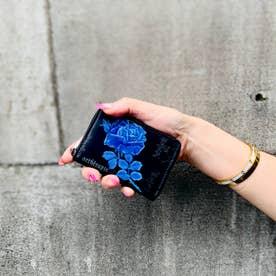 フィセルローズ コインケース (ブルー)