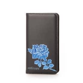フィセルローズ iphone7/8/SE2 ケース 手帳タイプ (ブルー)