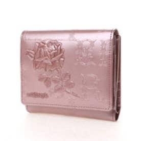フィセルローズ 二つ折り財布 アウトポケット(ピンク)