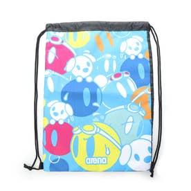 水泳 プールバッグ ナップサック AEAQJA55 【返品不可商品】 (ブルー)
