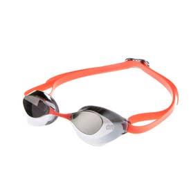 水泳 ゴーグル/小物 くもり止めスイミンググラス ノンクッションタイプ(ミラー加工) AGL-130M 【返品不可商品】