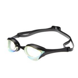 水泳 ゴーグル/小物 くもり止めスイムグラス クッションタイプ(ミラー加工) AGL-180M 【返品不可商品】