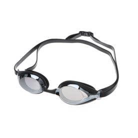 水泳 ゴーグル/小物 クモリトメスイムグラス(ミラ-カコウ) AGL-2400 【返品不可商品】 (シルバー)