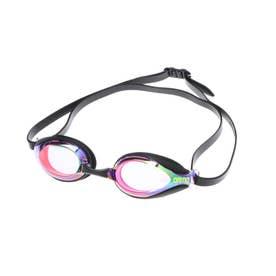 水泳 ゴーグル/小物 クモリトメスイムグラス(ミラ-カコウ) AGL-2400 【返品不可商品】 (レッド)