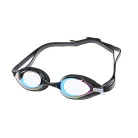 水泳 ゴーグル/小物 クモリトメスイムグラス(ミラ-カコウ) AGL-2400 【返品不可商品】 (ブルー)