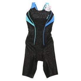 レディース 水泳 フィットネス水着 サークルバックスパッツ(ピッタリハ LAR-0202W 【返品不可商品】