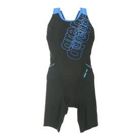 レディース 水泳 フィットネス水着 サークルバックスパッツ FLA-0916W 【返品不可商品】