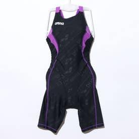 レディース 水泳 競泳水着 セイフリーバックスパッツ(キヤストラ SAR-0150W 【返品不可商品】 (ブラック)