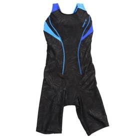 レディース 水泳 フィットネス水着 サークルバックスパッツ(ぴったりパッド)(着やストラップ) LAR-1202W 【返品不可商品】 (他)
