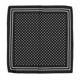ドットスカーフ (BLACK)