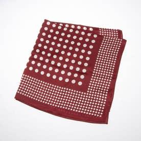 ドットシルクスカーフ (RED)