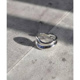 Asymmetry volume ring 26048 (シルバー)