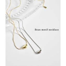Bean motif necklace 26047 (シルバー)
