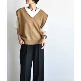 ARG knit vest 25013 (ベージュ)