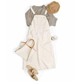 Salopette long skirt 29015 (エクリュ)