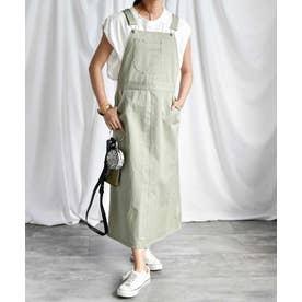 Salopette long skirt 29015 (グリーン)