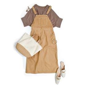 Salopette long skirt 29015 (ベージュ)