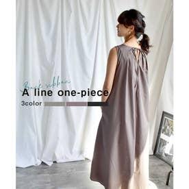 A line one-piece 29016 (ブラウン)