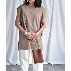 Frenchsleeve long T-shirt 24037 (モカ)