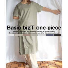 Basic bigT one-piece- (カーキ)