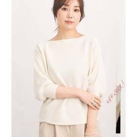DolmanSleeve knit tops 25076 ドルマンスリーブニットトップス (アイボリー)