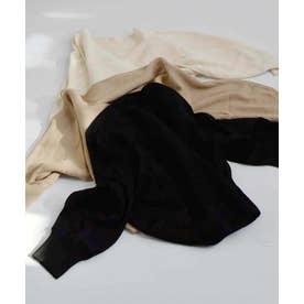 DolmanSleeve knit tops 25076 ドルマンスリーブニットトップス (ブラック)