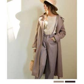 Long gown coat 21079 ガウンコート (ベージュ)