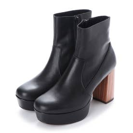 厚底ブーツ (ブラック)