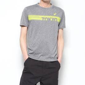 メンズ 陸上/ランニング 半袖Tシャツ ランニンググラフイツクSSトツプ 2011A849