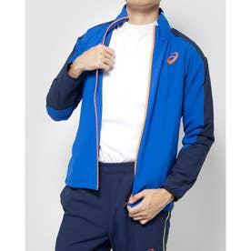 メンズ 陸上/ランニング 長袖Tシャツ TRACK ELITE ウーブンJKT 2091A330 (ブルー)