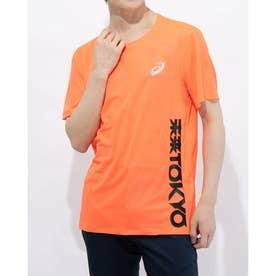 メンズ 陸上/ランニング 半袖Tシャツ ランニングFT クールSSトツプ 2011B193 (オレンジ)