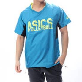 ASICS バレーボール 半袖Tシャツ ウオームアップショートスリーブトップ XWW627