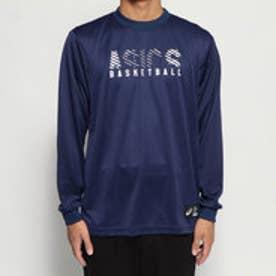 バスケットボール 長袖Tシャツ グラフイツクLSシャツ 2063A086