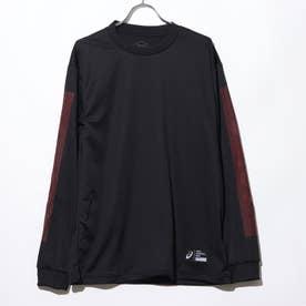バスケットボール 長袖Tシャツ ロングスリーブトツプス 2063A144 (ブラック)