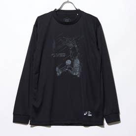 バスケットボール 長袖Tシャツ ロングスリーブトツプス 2063A143 (ブラック)