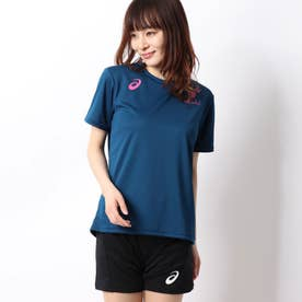 ASICS レディース バレーボール 半袖Tシャツ W'SグラフイツクSSトツプ 2052A134