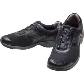 男性用スニーカー メッシュ素材使用 BOA(R)フィットシステム搭載 ひざに優しいBO M018 紳士靴 メンズ (ブラック)