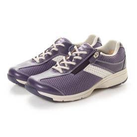 女性用 メッシュ素材使用 MS-L (パープル)レディース 婦人靴