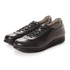 女性用 ソフトな天然皮革使用 1645 (オールブラック) レディース 婦人靴