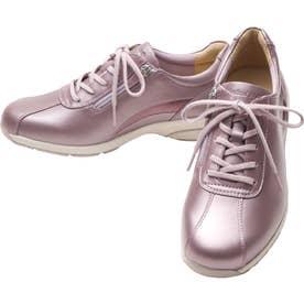 女性用スニーカー スタイリッシュモデル ひざに優しい アサヒメディカルウォークLE 婦人靴 レディース (ラベンダー)