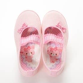 ボンボンリボン S01 (ピンク)子供靴 キッズシューズ 上履き
