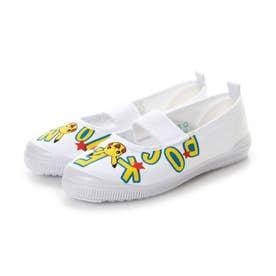 ポケモン S02-XY (ホワイト)子供靴 キッズシューズ 上履き