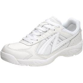 男女兼用 運動靴 アサヒグリッパー 38 (ホワイト) 体育 スポーツ