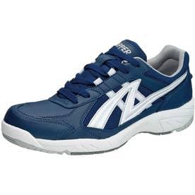 男女兼用 運動靴 アサヒグリッパー 38 (ネイビー) 体育 スポーツ