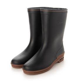 長靴 雨靴 レインシューズ R303 (ブラック)