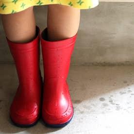 子供靴 長靴 雨靴 R304 (レッド)キッズシューズ レインシューズ