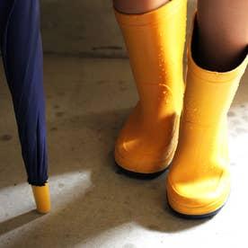 子供靴 長靴 雨靴 R304 (イエロー) キッズシューズ レインシューズ