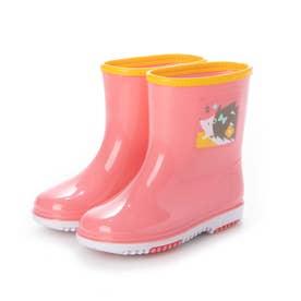 子供靴 長靴 雨靴 R302 (ハリネズミ) キッズシューズ レインシューズ