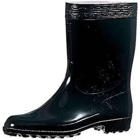 男性用 長靴 雨靴 レインシューズ ハイゼクト紳士長K (黒)